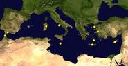 Location hypothesis of Atlantis