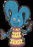 Hairdresser Octopus Blue