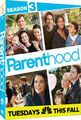 Parenthood season 3 DVD
