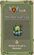 Mountain Giant 6