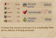 Butterfly stats lv10