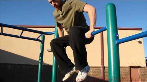 How to Free Run - Knee Swing Giant Tutorial