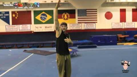 How to do a Round Off Tutorial- Gymnastics tumbling tricking