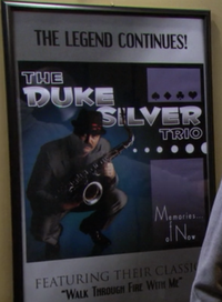 Duke Silver Poster at Doubletime Sound Studio