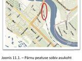 Pärnu uue raudteejaama asukoht