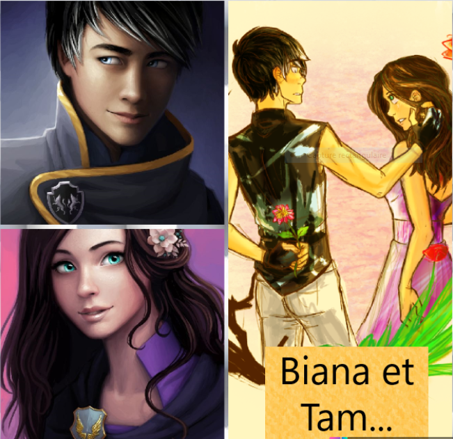 Biana et Tam ; je t'aime aussi