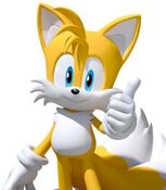 Miles Tails Prower in Team Sonic Racing