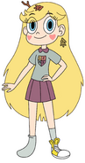 Star Butterfly as Anne Boonchuy