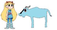 Star meets Blue Wildebeest