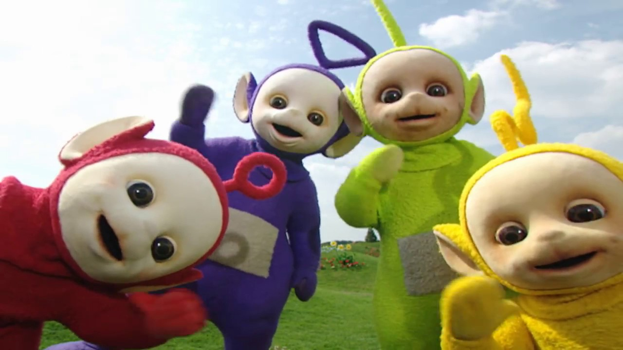 The Teletubbies and Boohbah Meet Blue's Clues: What Does Blue Want to Build?