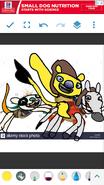 Wally, Norville and Bobgoblin as Simba, Timon and Pumbaa