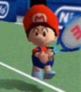 Baby Mario in Mario Tennis