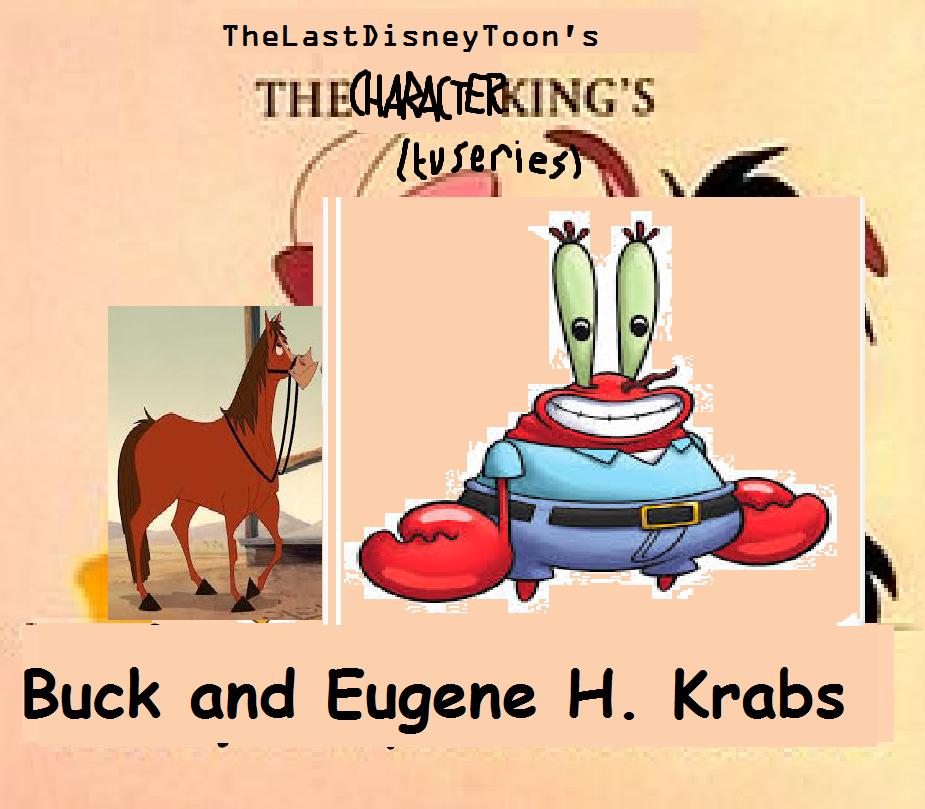 Buck and Eugene H. Krabs (TheLastDisneyStyle Style)