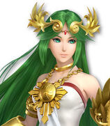 Palutena in Super Smash Bros. Ultimate