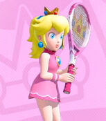 Princess Peach in Mario Tennis Aces