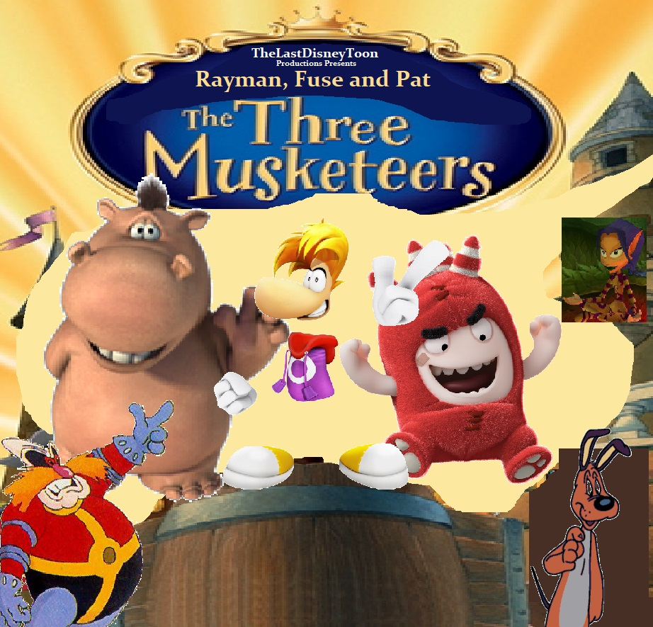 Rayman, Fuse and Pat The Three Musketeers poster.jpg