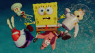 Spongbob and team are flying