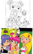 Wallykazam and Sabrina & Ami and Yumi