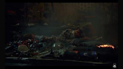 Beaker falls asleep among debris after an explosion in his apartment.jpg