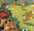 Rabbits snow white disneyland magazine