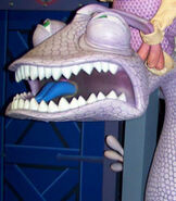 Randall Boggs in Monsters, Inc. - Mike and Sulley to the Rescue!
