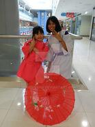 Spirited away cosplay haku and chihiro ver 1 by rosesienna-d54i760