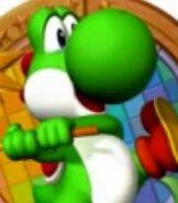 Yoshi in Mario Party 6