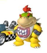 Bowser Jr. in Mario Kart Wii
