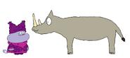 Chowder meets White Rhinoceros