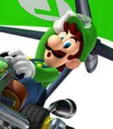 Luigi in Mario Kart 7