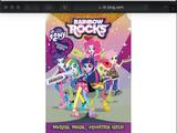 Character Hates MLP EQ Rainbow Rocks (2014)