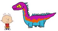 Stanley meets Brontosaurus