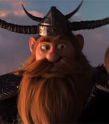 Stoick in How to Train Your Dragon- The Hidden World