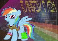 Rainbow Dash of the 80s