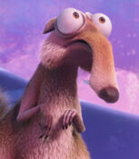 Scrat in Ice Age Collision Course