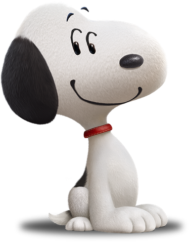 Snoopy The Beagle (aka Frosty The Snowman)