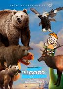 The Good Elk Poster