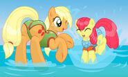 Applejack and applebloom s summer by niclordxyz dbwyl0d-fullview