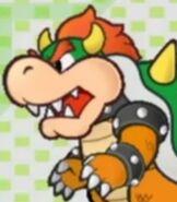 Bowser in Super Paper Mario