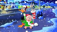 Bugs daffy and porky sings christmas