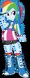 Equestria girls rainbow dash by deathnyan-d6f976x