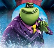 Flushed Away The Toad