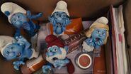 The smurfs screams