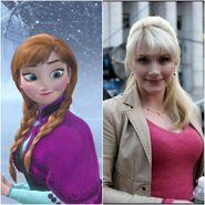 Anna as Gwen Stacy