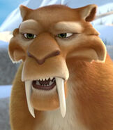 Diego in Ice Age The Great Egg-Scapade