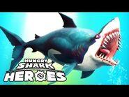 Hungry shark heroas great