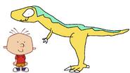 Stanley Griff meets Charchodontosaurus