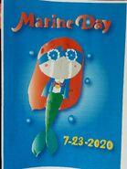 2020 Marine Day Printed Poster