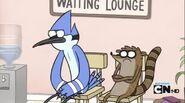 Angry Mordecai and Rigby