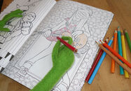 Disney-Family Kermit-Coloring Muppets-Coloring-Book